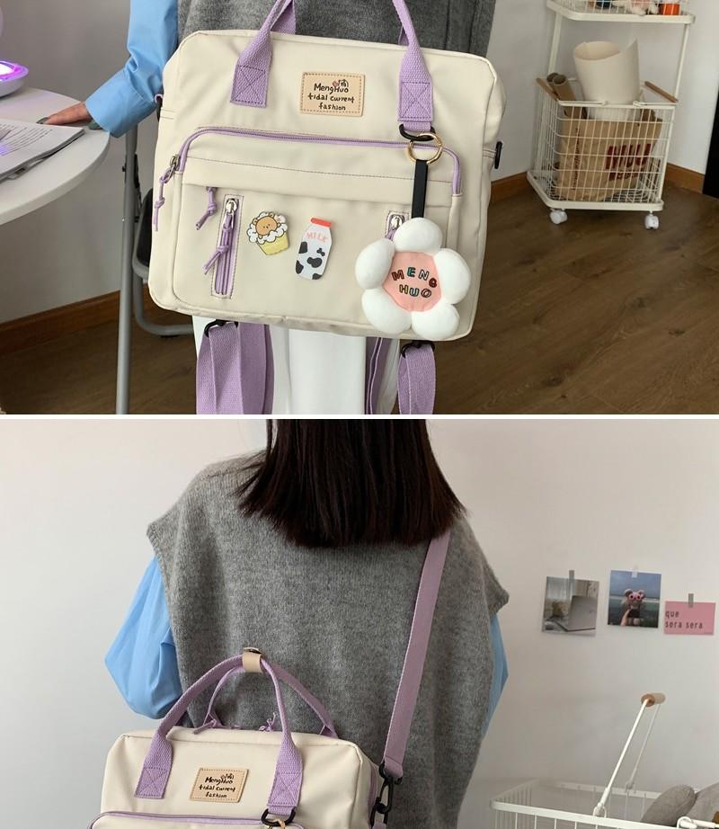 Egirl Soft girl Lovely Multifunctional Backpacks 45