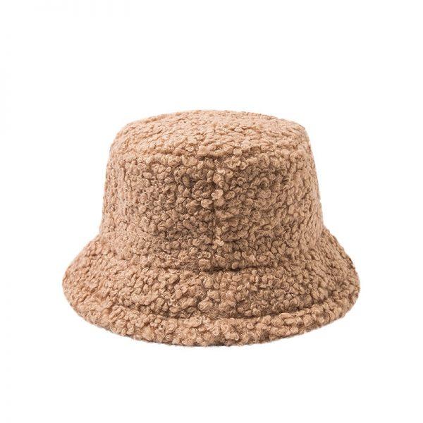 Harajuku Faux Fur Winter Bucket Hat 6