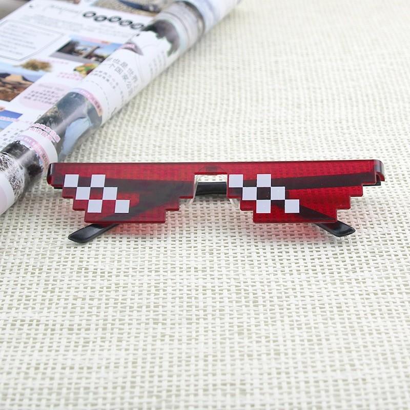 Egirl Eboy Harajuku Pixelated Sunglasses Thug Life 55