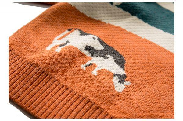 Eboy Egirl Y2K Vintage Cows print Sweaters 14