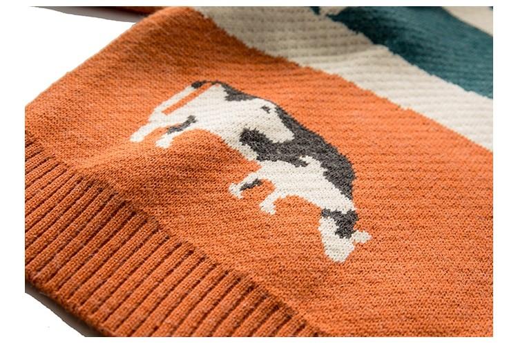 Eboy Egirl Y2K Vintage Cows print Sweaters 50