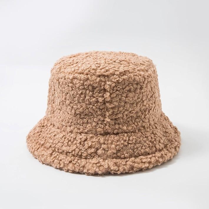 Harajuku Faux Fur Winter Bucket Hat 52