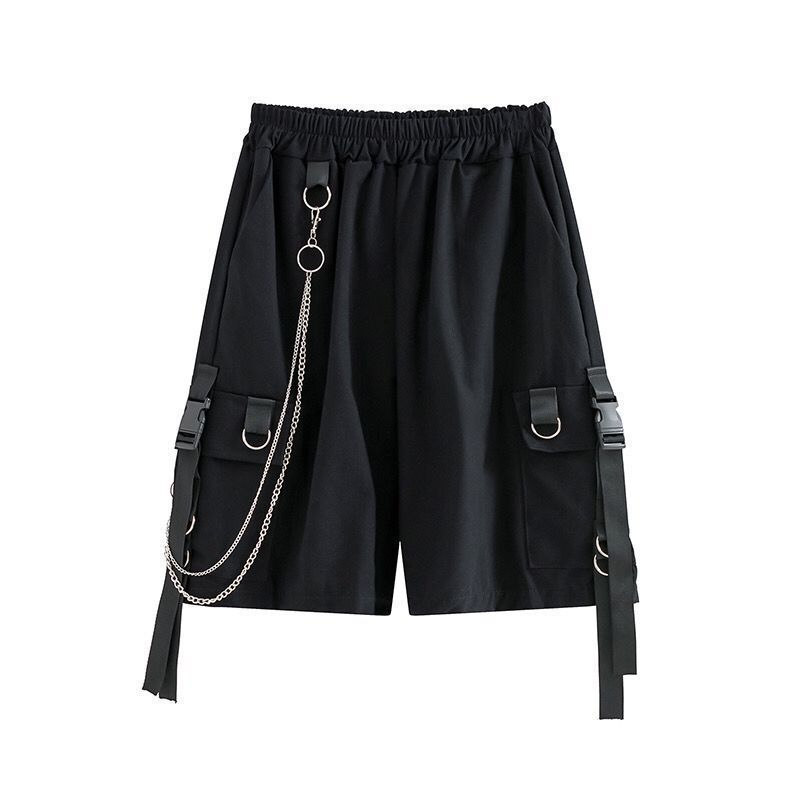 Eboy Egirl Shorts with straps and chain 45