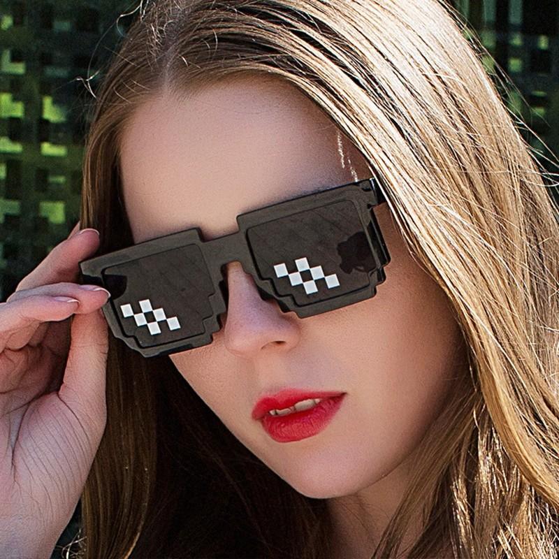 Egirl Eboy Harajuku Pixelated Sunglasses Thug Life 47