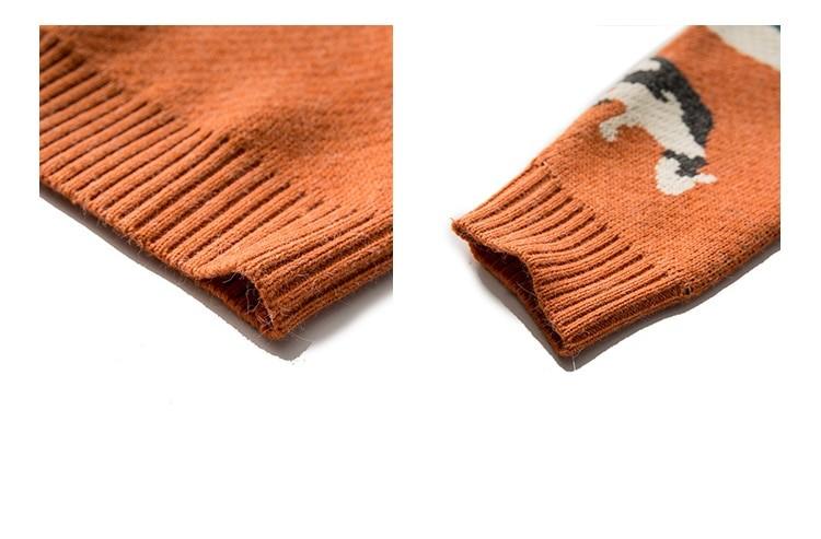 Eboy Egirl Y2K Vintage Cows print Sweaters 48