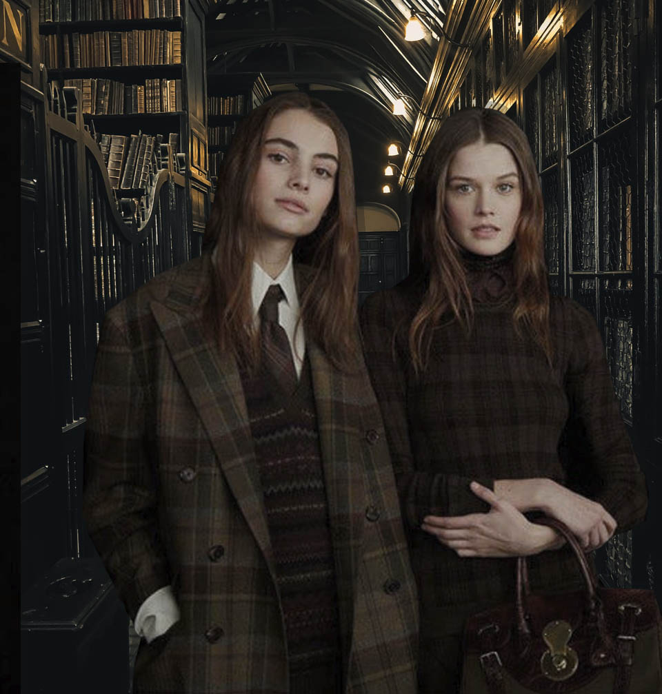 Dark Academia is an aesthetic of knowledge, learning .. and vintage high quality clothing!