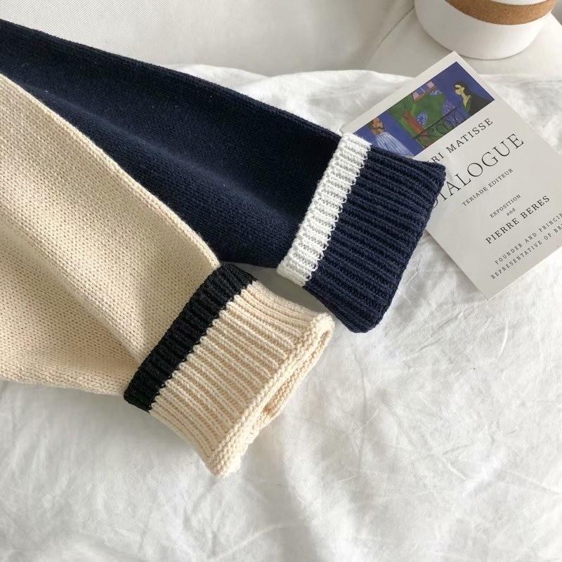 Harajuku E-boy E-girl Knitted Sweater with sushi embroidery 50