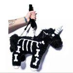 Punk unicorn Skeleton Crossbody Bag 2