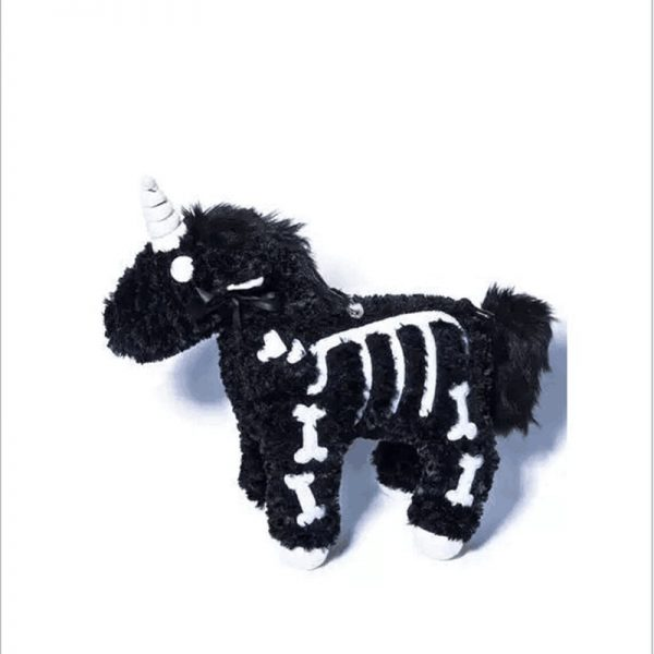 Punk unicorn Skeleton Crossbody Bag 3