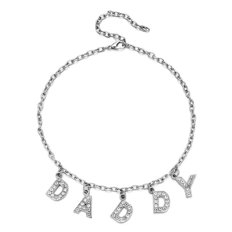 E-girl Y2K Soft girl Letter Necklace 58