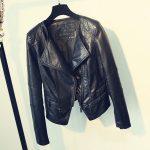 Punk Egirl Motorcycle PU Leather Jacket 2