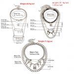 E-girl E-boy Punk Gothic Big Lock Key Angel Pendant Necklace 4