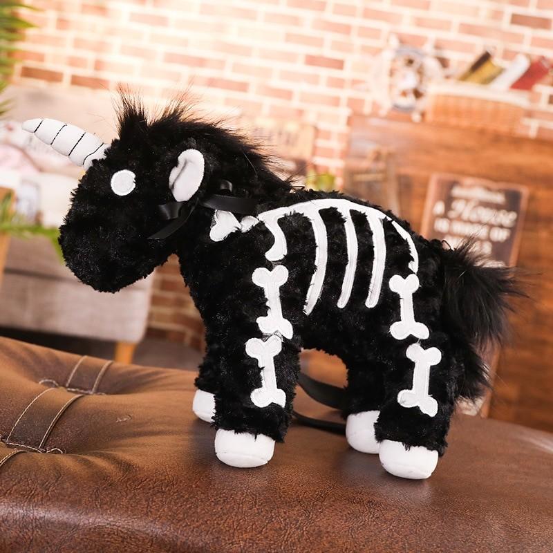 Punk unicorn Skeleton Crossbody Bag 42