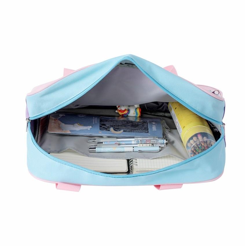 Soft Girl Egirl Harajuku Canvas Large Handbags 49