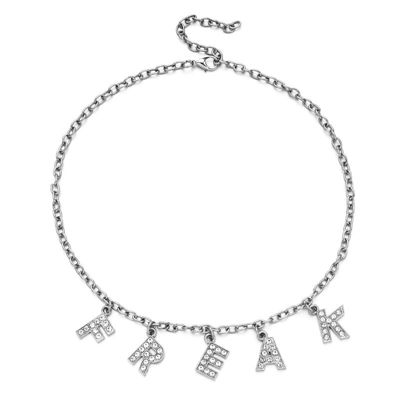 E-girl Y2K Soft girl Letter Necklace 49
