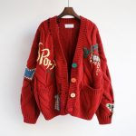 Harajuku Y2K  Cottagecore Loose Knitted Cardigan with Pockets and Embroidery 4