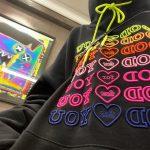 E-girl Soft girl oversized Harajuku hoodie with Good for You embroidery 2