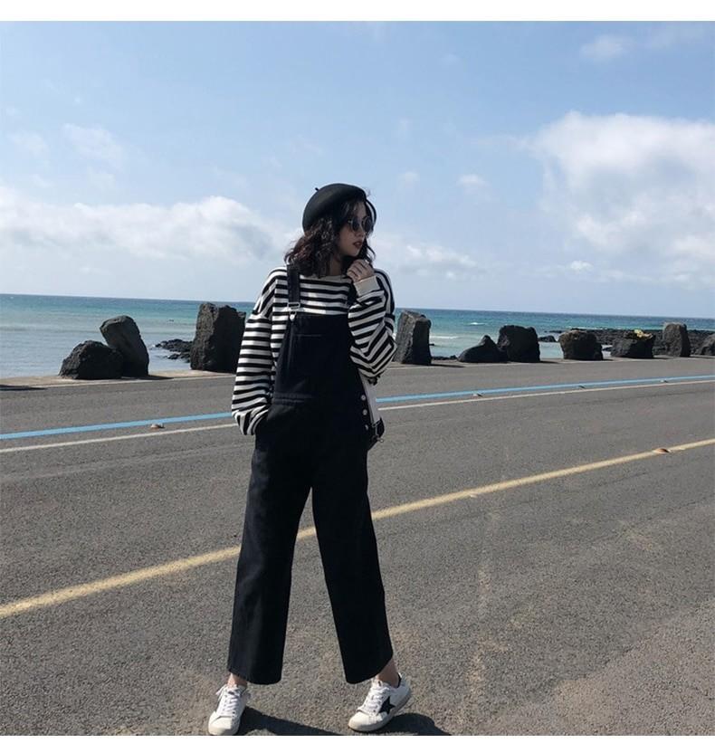 Harajuku E-girl Grunge striped cotton Sweatshirt 52