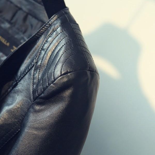 Punk Egirl Motorcycle PU Leather Jacket 45