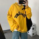 E-boy E-girl Punk Gothic Harajuku V-neck sweatshirt  2