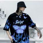 E-boy E-girl Harajuku Punk Butterfly T-Shirt 8