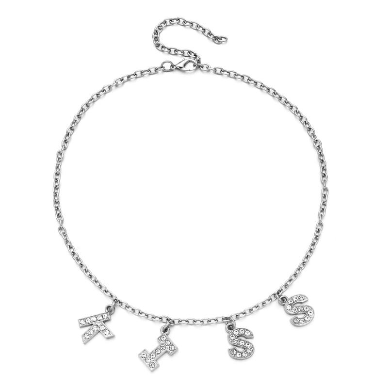 E-girl Y2K Soft girl Letter Necklace 52