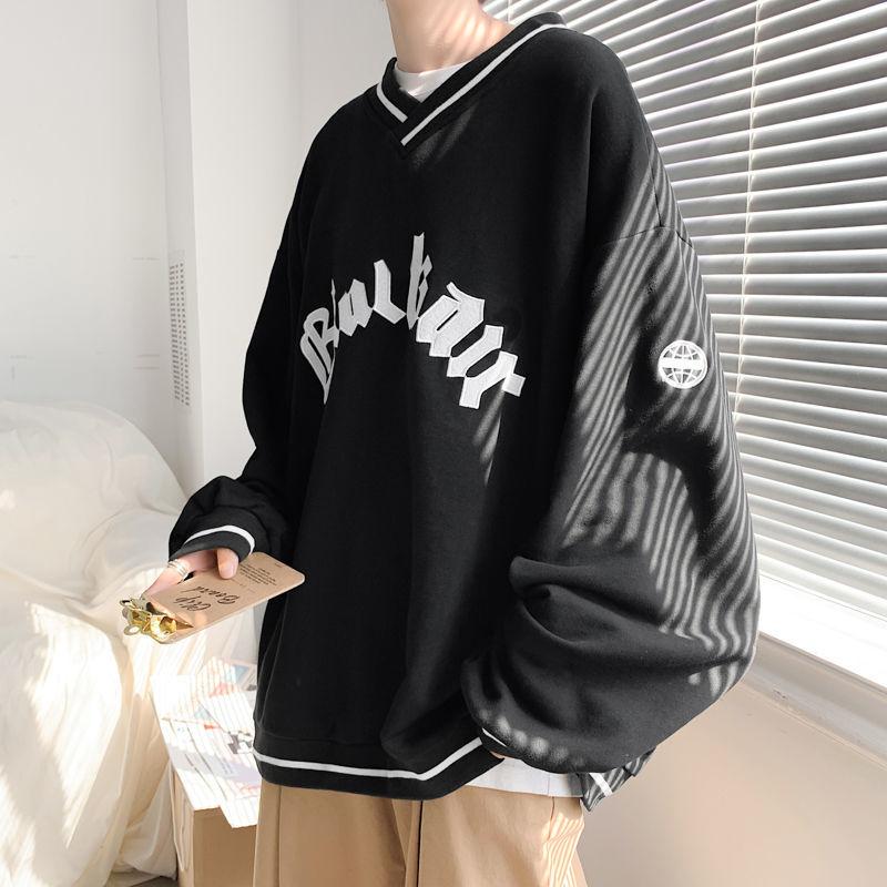 E-boy E-girl Punk Gothic Harajuku V-neck sweatshirt 42