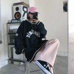 E-boy E-girl Punk Gothic Harajuku V-neck sweatshirt  4