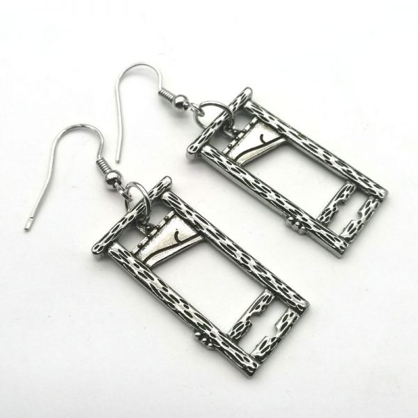 E-girl E-boy Gothic Punk Guillotine Earrings 2