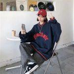 E-boy E-girl Punk Gothic Harajuku V-neck sweatshirt  5
