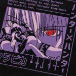 E-girl Harajuku Anime Hoodies Hunter X Hunter Kurapika 6