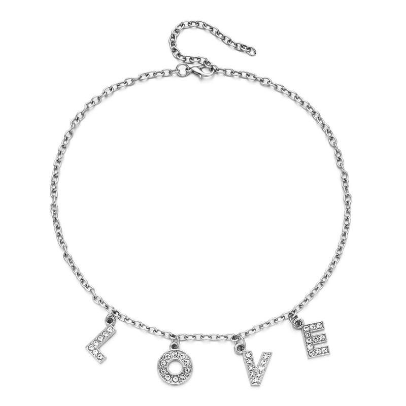 E-girl Y2K Soft girl Letter Necklace 50
