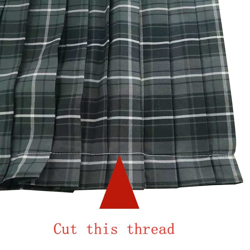 Harajuku E-girl Soft girl Pleated A-Line Plaid Skirts 42