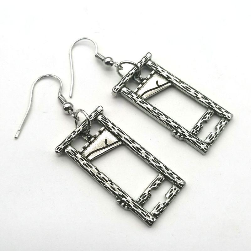 E-girl E-boy Gothic Punk Guillotine Earrings 5