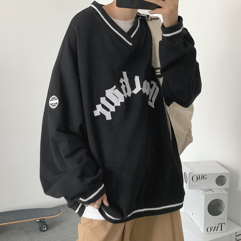 E-boy E-girl Punk Gothic Harajuku V-neck sweatshirt 44