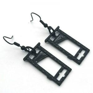 E-girl E-boy Gothic Punk Guillotine Earrings 1