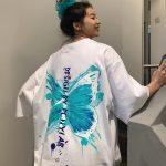 Harajuku E-girl E-boy Butterfly Print Loose T-shirt 2