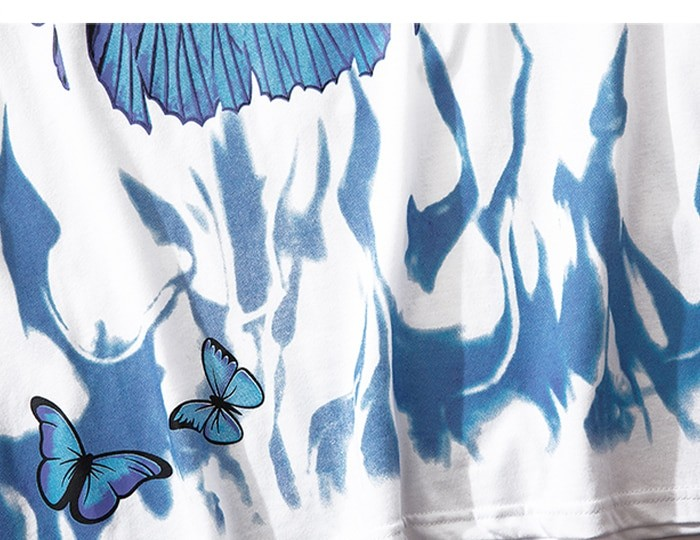 E-boy E-girl Harajuku Punk Butterfly T-Shirt 45