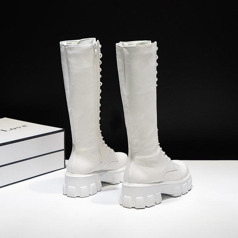 E-girl Gothic Punk Knee-high Pu Boots 49