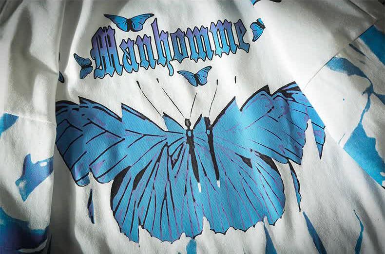 E-boy E-girl Harajuku Punk Butterfly T-Shirt 50