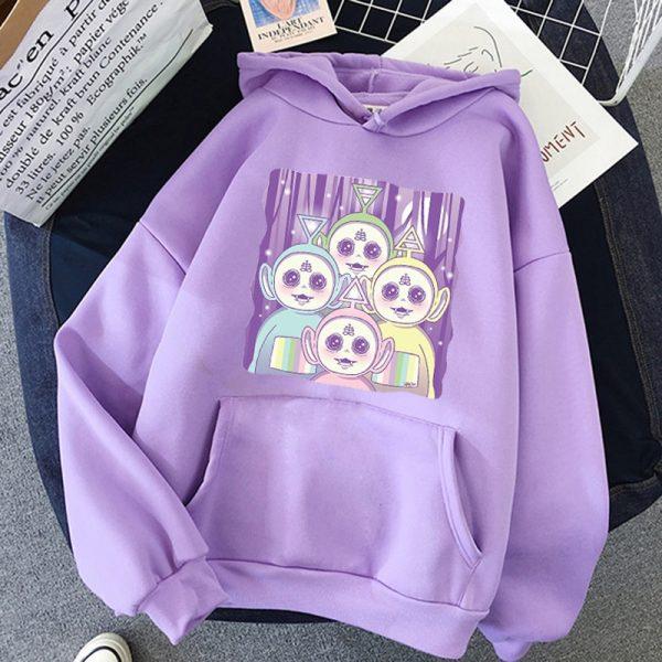 Aesthetic E-girl Harajuku hoodie Teletubbies 2