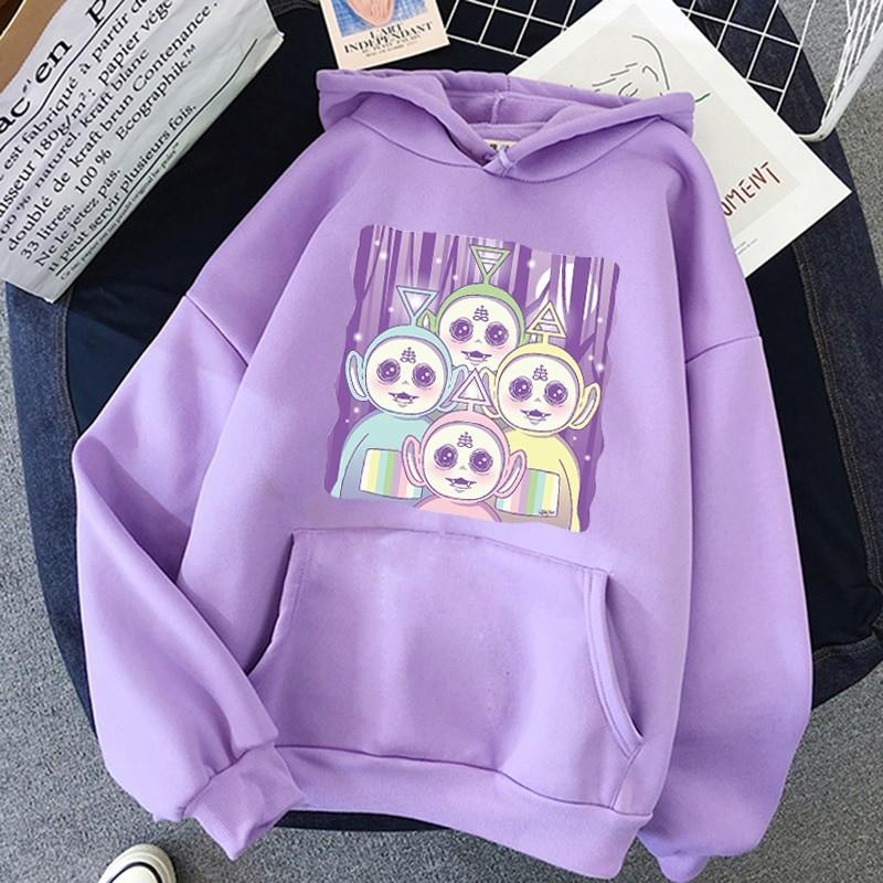 Aesthetic E-girl Harajuku hoodie Teletubbies 43