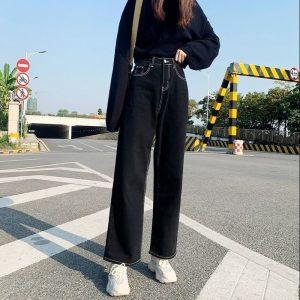 E-girl Harajuku Y2K Jeans High Waist 1
