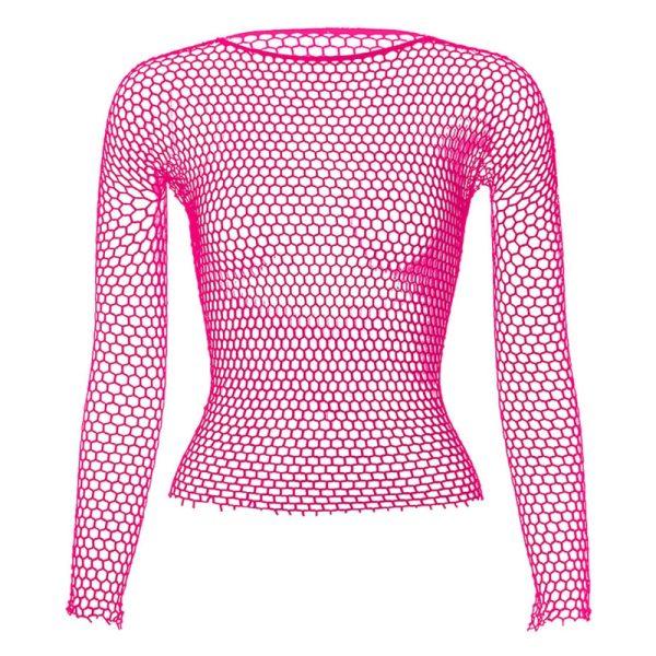 Punk E-girl Gothic Fishnet Bodystocking Long Sleeve Underwear 5