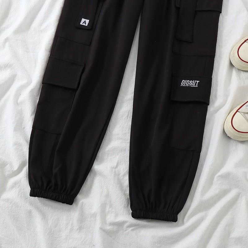 Harajuku E-girl Set Cargo Pants Sweatshirt Tank Top 64