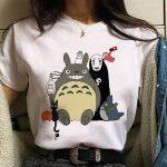 Harajuku Anime Spirited Away Kawaii T-shirt 4