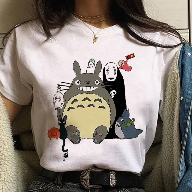 Harajuku Anime Spirited Away Kawaii T-shirt 48