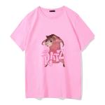 E-girl Pastel Gothic Punk Harajuku T-shirts Ratz print 4