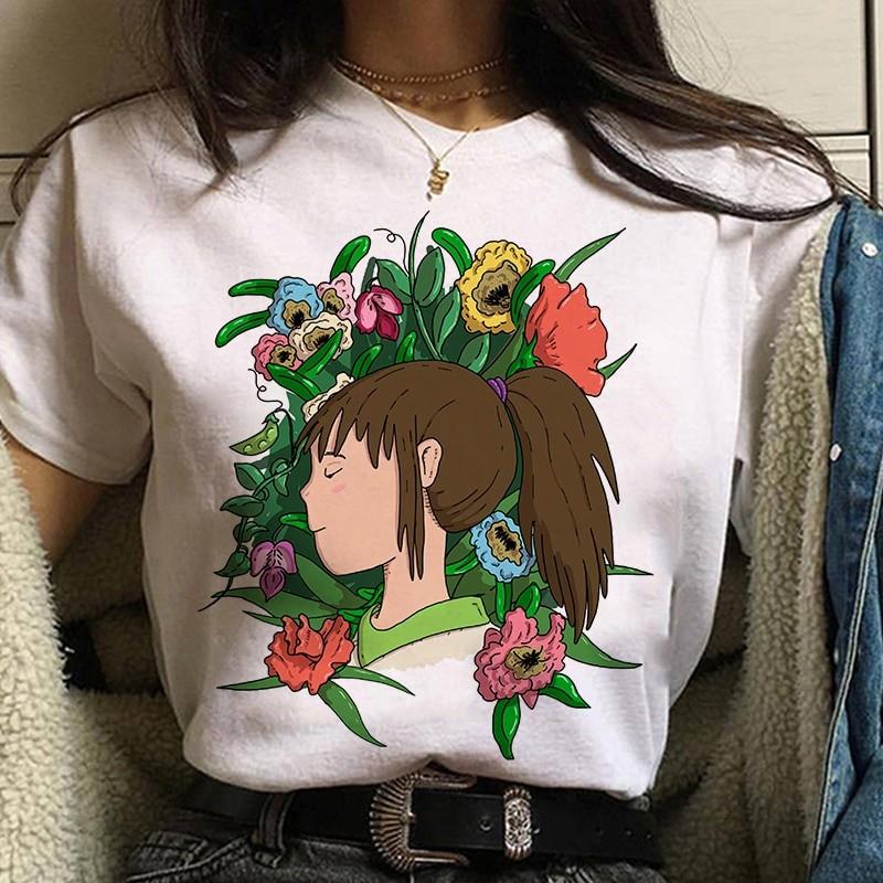 Harajuku Anime Spirited Away Kawaii T-shirt 53