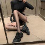 E-girl Pastel Gothic Punk Fishnet Stockings 3